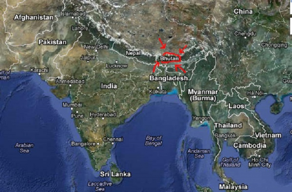 Where Is Bhutan Located ITAP World - Where is bhutan